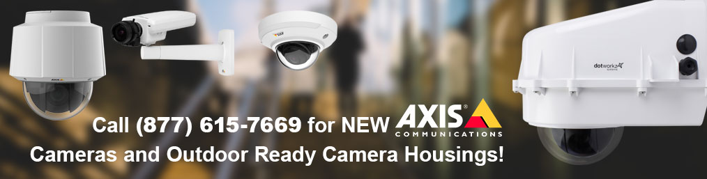 New Axis Cameras and Accessories
