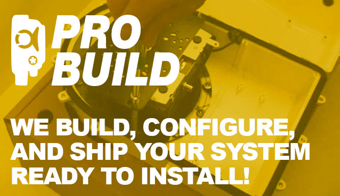 ProBuild - We'll ship your system ready to install