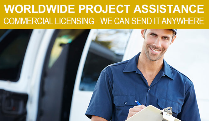 Worldwide Project Assistance - We Can Get Your System Shipped Anywhere